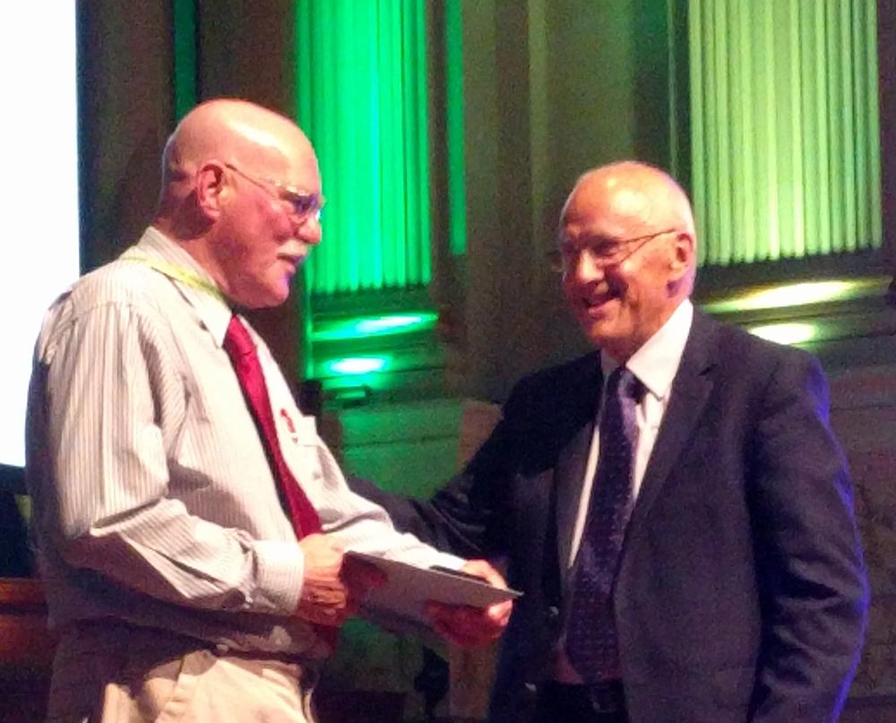 Dr-Kevin-Moore-presented-Lester-Burgess-Award-2017
